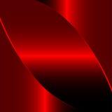 Priorità bassa rossa del metallo Fotografia Stock