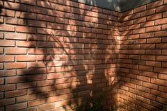 Priorità bassa rossa del muro di mattoni Immagine Stock