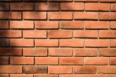 Priorità bassa rossa del muro di mattoni Immagine Stock Libera da Diritti