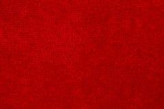 Priorità bassa rossa del tessuto Fotografie Stock