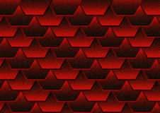 Priorità bassa rossa del tetto Immagine Stock