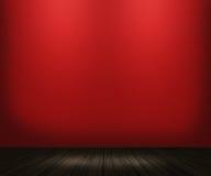 Priorità bassa rossa della stanza dell'annata fotografia stock libera da diritti