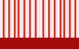 Priorità bassa rossa, dentellare e bianca Fotografia Stock Libera da Diritti