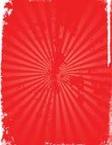 Priorità bassa rossa di stile del grunge. Immagini Stock