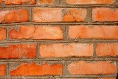 Priorità bassa rossa di struttura del muro di mattoni Fotografia Stock Libera da Diritti