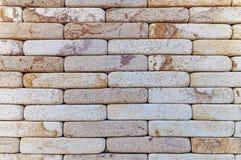 Priorità bassa rossa di struttura del muro di mattoni Fotografia Stock