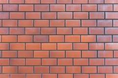 Priorità bassa rossa di struttura del muro di mattoni Immagine Stock Libera da Diritti