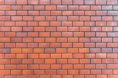 Priorità bassa rossa di struttura del muro di mattoni immagini stock