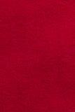 Priorità bassa rossa di struttura del tessuto Immagini Stock