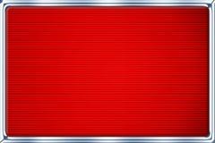 Priorità bassa rossa metallica automatica. Immagini Stock