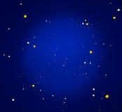 Priorità bassa scintillante dell'universo Immagini Stock