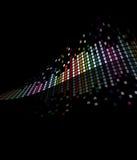 Priorità bassa scorrente delle mattonelle di mosaico Immagini Stock