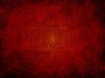 Priorità bassa scura rossa della parete Fotografie Stock