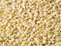 Priorità bassa secca del seme di sesamo Fotografia Stock Libera da Diritti