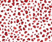Priorità bassa senza giunte dei cuori del biglietto di S. Valentino Immagini Stock Libere da Diritti