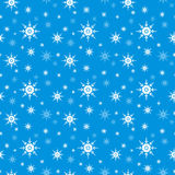 Priorità bassa senza giunte del fiocco di neve Fotografia Stock Libera da Diritti