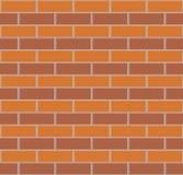 Priorità bassa senza giunte del muro di mattoni Fotografie Stock Libere da Diritti