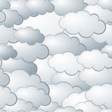 Priorità bassa senza giunte della nube Immagine Stock Libera da Diritti