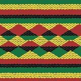 Priorità bassa senza giunte lavorata a maglia multicolore illustrazione vettoriale