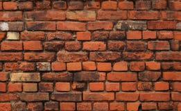 Priorità bassa senza giunte: muro di mattoni Immagine Stock
