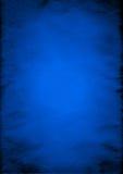 Priorità bassa sgualcita del documento blu Fotografie Stock Libere da Diritti