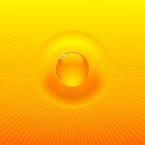 Priorità bassa solare piena di sole di irradiamento royalty illustrazione gratis