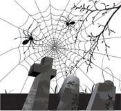 Priorità bassa spaventosa di Halloween Illustrazione di Stock