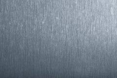 Priorità bassa spazzolata di struttura del metallo Fotografia Stock