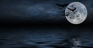Priorità bassa spettrale di Halloween per il disegno Fotografia Stock Libera da Diritti
