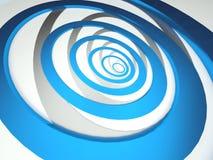 Priorità bassa a spirale astratta Immagine Stock Libera da Diritti