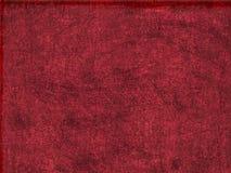 Priorità bassa sporca rossa Fotografie Stock