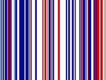Priorità bassa a strisce blu bianca rossa illustrazione vettoriale
