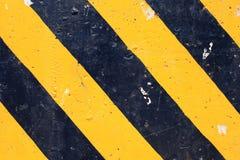 Priorità bassa a strisce del pericolo astratto Fotografia Stock