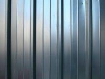 Priorità bassa a strisce della parete dello zinco Immagini Stock Libere da Diritti