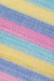 Priorità bassa a strisce della tessile Immagini Stock Libere da Diritti
