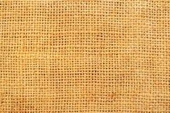 Priorità bassa strutturata della tela di sacco Fotografia Stock