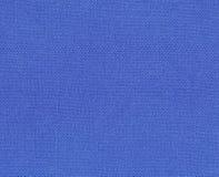 Priorità bassa - tessuto blu Fotografie Stock