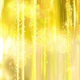 Priorità bassa Twinkly degli indicatori luminosi e delle stelle Fotografia Stock