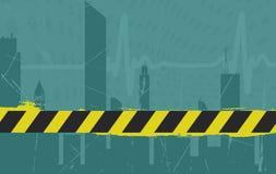 Priorità bassa urbana di Grunge - vettore illustrazione vettoriale