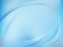 Priorità bassa vaga blu astratta Vettore di ENV 10 Fotografia Stock