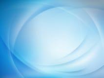 Priorità bassa vaga blu astratta Vettore di ENV 10 Fotografia Stock Libera da Diritti