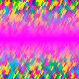 Priorità bassa variopinta astratta Colori saturati Fotografia Stock