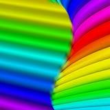 Priorità bassa variopinta astratta del Rainbow Fotografie Stock