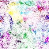 Priorità bassa variopinta astratta Fondo luminoso di lerciume Struttura colorata, spruzzo della pittura illustrazione di stock