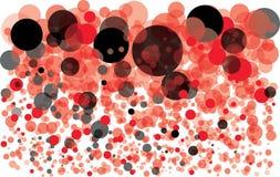 Priorità bassa variopinta con le bolle Fotografie Stock Libere da Diritti