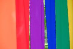 Priorità bassa variopinta della tessile Fotografia Stock