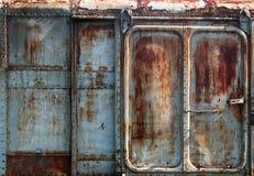 Priorità bassa vecchia del metallo Fotografia Stock