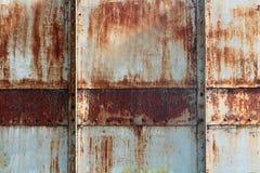 Priorità bassa vecchia del metallo Fotografia Stock Libera da Diritti