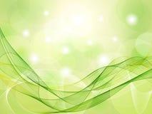 Priorità bassa verde astratta Fotografia Stock