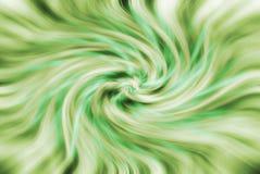 Priorità bassa verde astratta di giro rapido Fotografia Stock Libera da Diritti